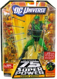 DC Universe Classic Green Arrow Figure * You can get more details by clicking on the image.