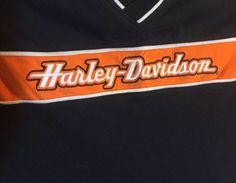 HARLEY DAVIDSON RACING MENS SMALL ALL EMBROIDERED GARAGE MECHANIC SHIRT-NIP