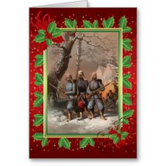 Stoepel Civil War Christmas Card