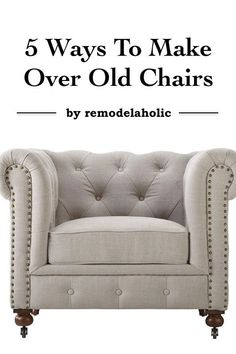 Sometimes it takes thinking outside the box when looking for creative ways to make over old chairs. Refurbishing an old chair does not have to be expensive. All it requires is some elbow grease and a few well-placed decorating techniques to bring these chairs back to life. Remodeling an old chair can be done easily with some paint, fabric, and items typically found around the house. Keep reading to find out what other tips eBay has to offer!