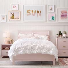 Whimsical Waves Duvet + Minted® gallery wall