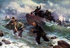 V. Puzirkov. Black Sea marines