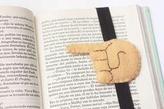 DIY / Marca páginas Emoji de fieltro (+ plantilla)