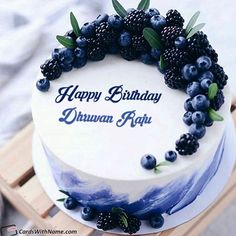 Dhruvan Raju Name Cards And Wishes Happy Birthday Cake Writing, Birthday Cake Write Name, Birthday Wishes With Name, Birthday Cake With Photo, Happy Birthday Cake Images, Cake Name, Birthday Greetings, Birthday Cards, Birthday Gifts