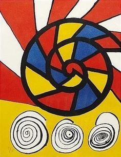 Lithograph - Alexander Calder - Sonet