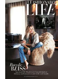 Elle McPherson. I want to look like her at 50. Wow.