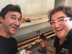 Somos @zetatesters carpinteros ( con @danielamof )