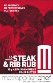 BEST seasoning on the planet! Barbeque Steak & Rib Rub from Metropolitan Chef in British Columbia, Canada. Bbq Steak, Rib Rub, Bar B Que, Grilling Ideas, Lamb Chops, Roasts, British Columbia, Foodies, Rave