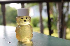 2-ounce Bear Jar of Raw MA Honey by TheBeesWaxyKnees on Etsy