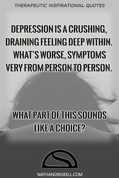 Depression is a health condition that drains your energy and will to live…
