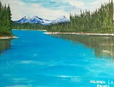 Portfolio Gallery for Al Budarin Impressionist Paintings, Rocky Mountains, The Great Outdoors, Landscapes, Places To Visit, Display, Waterfalls, Gallery, Columbia