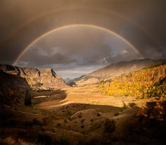Desert Rainbow- Beautiful Landscapes by Nathan Kaso