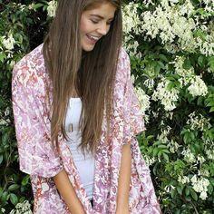 The new @bijou_the_label ONE SIZE FITS ALL Sugar Plum Kimono  Only $59.95   In store & online now http://ift.tt/1GqdATg  #bijouthelabel #bijou #kimono #onesizefitsall #bohemian #bohofashion #fashion #shop #saltwatergypsy #capewoolamai #phillipisland