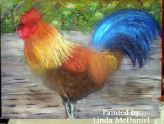 rooster I Love Girls, Roosters, Art Work, Birds, Painting, Animals, Style, Artwork, Swag