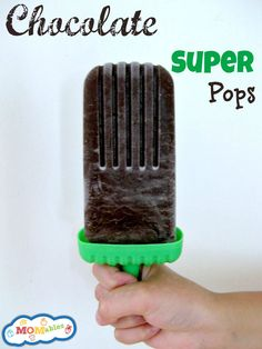 Healthy Chocolate Avocado Popsicles that actually taste good!