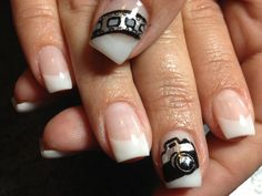 #nail art #camera #hand painted