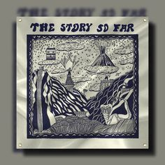 The Story So Far Album White Wall Flag : PNE0 : MerchNOW - Your Favorite Band Merch, Music and More