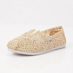 Cream Crochet C Slip-On (12 Pieces) - #Bulk #Footwear [from $529.14 for 12]