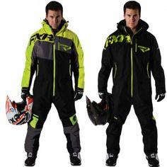 FXR Racing Squadron Lite Mens Skiing Snowboard Sled Snowmobile Monosuits