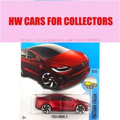 2017 Hot Wheels 1:64 Red Tesla Models X Metal Diecast Cars Collection Kids Toys Vehicle For Children Juguetes  Price: 9.99 & FREE Shipping #computers #shopping #electronics #home #garden #LED #mobiles #rc #security #toys #bargain #coolstuff |#headphones #bluetooth #gifts #xmas #happybirthday #fun