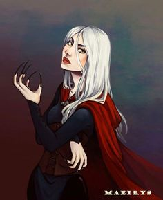 """1,607 Likes, 14 Comments - Throne of Glass + ACOTAR (@courtofmaas) on Instagram: """"This Manon fan art by Maeirys (Tumblr/@maeirys) gives me so much life. (Her attitude in this piece…"""""""