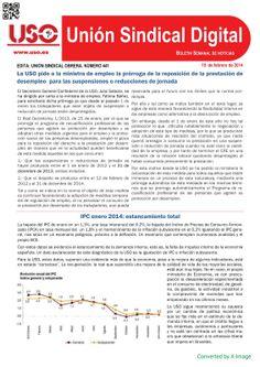 UNIÓN SINDICAL OBRERA DIPUTACIÓN DE SEVILLA: BOLETÍN UNIÓN SINDICAL DIGITAL 19 FEBRERO 2014