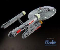 We're Beyond excited for the new #StarTrek! #LiveLongAndProsper #StarshipEnterprise #WhatWillYouCreate #3Doodler