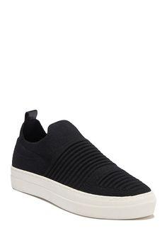 Madden-Girl Brytney Textured Platform Slip-On Sneaker Platform Slip On Sneakers, Black Slip On Sneakers, Girls Sneakers, Knit Sneakers, Vans Outfit, Fall Capsule Wardrobe, Nordstrom Rack, Image, Bride Shoes