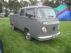 1976 Volkswagen Kombi T2 Pickup by - the only Pick up truck I could ever see myself driving...