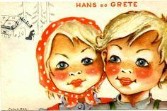 Eventyrkort Hans og Grete, Anna Eline Coucheron utg Mittet Disney Characters, Fictional Characters, Anna, Disney Princess, Children, Young Children, Boys, Kids, Fantasy Characters