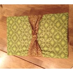 First try to use fabric as wrapping paper for a gift!