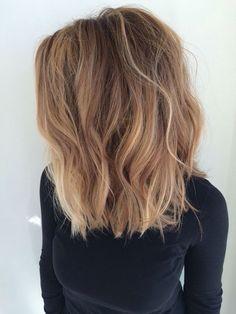 Image result for shoulder length hair caraMEL