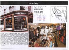 "Reading [opened 1998] - ""Everybody's favourite shop in the Thames Valley.. bubbles over with friendly enthusiasm and helpful advice"""