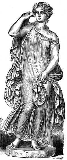 Ancient Greek Clothing; most vital part is the wet drapery (most prominent of Greek clothing)