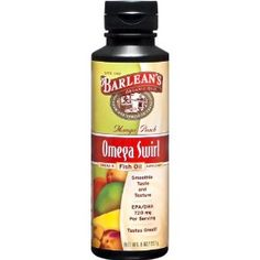 Well I can't say I love it yet, since I haven't tried it... but I've heard good things. Mango Peach flavored omega swirl fish oil from Barleans. (@Mallory Williams - this is what I was telling you about)