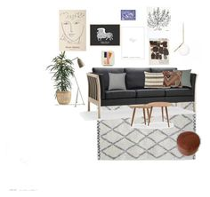 """Stue3"" by christine-delmar on Polyvore featuring interior, interiors, interior design, home, home decor and interior decorating"