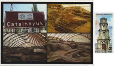 Swap (2018/163) - Arrived: 2018.05.22   ---   Çatalhöyük was a very large Neolithic and Chalcolithic proto-city settlement in southern Anatolia, which existed from approximately 7500 BC to 5700 BC, and flourished around 7000 BC. In July 2012, it was inscribed as a UNESCO World Heritage Site.