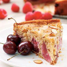Cherry-Raspberry Buckle