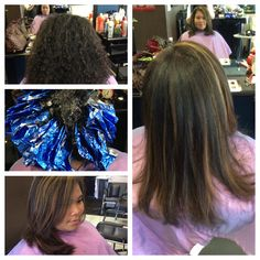Verticle foils with magma 07 w/30 volume on virgin natural level 4 hair.