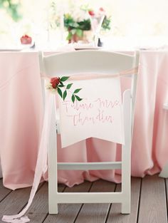 Photography : Mariel Hannah Read More on SMP: http://www.stylemepretty.com/2016/12/05/pink-girly-bridal-shower/