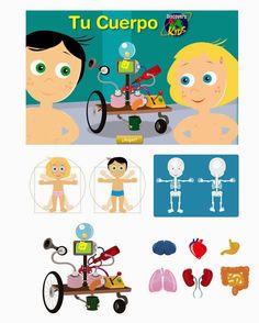 """Blog de los niños: Juegos educativos online para aprender """"El cuerpo humano"""""""