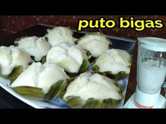 PUTO BIGAS RECIPE - YouTube Puto Bigas Recipe, Pandesal, Pancit, Filipino, Asian Recipes, The Creator, Favorite Recipes, Baking, Youtube