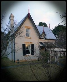 Kalaurgan House, a Bowral heritage listed house Highland Homes, Weekends Away, January 2016, Highlands, Restoration, Gothic, Southern, Australia, Houses
