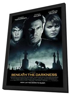 Beneath the Darkness 11x17 Framed Movie Poster (2012)