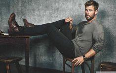 Male Fashion Trends: Chris Hemsworth para Men's Journal Magazine por Michael Schwartz