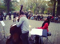 JD Allen Quartet at #jazzandcolors. @Central Park