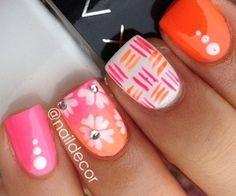 summer #nails #nailart #naildesign
