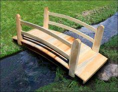 Small Pedestrian Bridges | Garden Bridges | Wooden Bridge Designs | Custom Wood Bridges ...