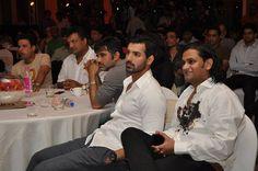 Manoj Bajpai, Sanjay Gupta (director), Suniel Shetty, John Abraham and Kedhar Gawde