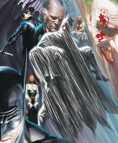 Dc Comics, Batman Comics, Batman Universe, Comics Universe, Ms Marvel, Captain Marvel, Supergirl Tv, Joker, Alex Ross